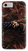 Needles Cones And Oak Leaf IPhone Case