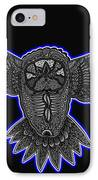 Neon Owl IPhone Case