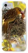 Nesting Instinct IPhone Case by Carol Groenen