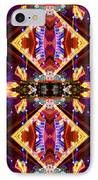 New Mexico Neon IPhone Case by Glennis Siverson