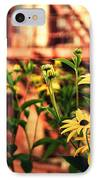 New York City Flowers Along The High Line Park IPhone Case