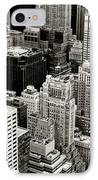New York City From Above IPhone Case by Vivienne Gucwa