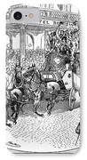 New York: Coaching, 1876 IPhone Case