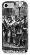 New York: Election, 1876 IPhone Case