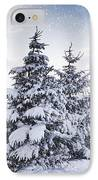 Northumberland, England Snow-covered IPhone Case