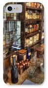 Nostalgia  Pharmacy IPhone Case by Bob Christopher