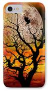 Nuclear Moonrise IPhone Case