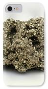 Nugget Of Fool's Gold, Iron Pyrites IPhone Case