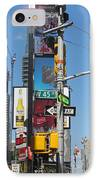 Nyc Directions IPhone Case by Randi Shenkman