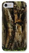 Old Fig Tree IPhone Case by Kaye Menner