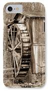 Old Mill In Sepia IPhone Case