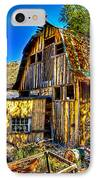 Old Shed IPhone Case by Jon Berghoff