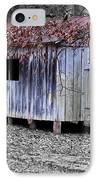 Old Weathered Shed IPhone Case