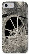 Old West Water Mill 3 IPhone Case by Darcy Michaelchuk