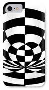 Op Art 2 IPhone Case by Methune Hively