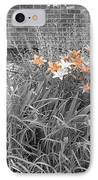 Orange Day Lilies. IPhone Case by Ausra Huntington nee Paulauskaite
