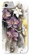 Orchid 13 Elena Yakubovich IPhone Case
