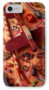 Our Old Toys IPhone Case by Garry Gay