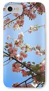 Outside Is The Best Side IPhone Case by Katie Cupcakes