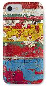 Painting Peeling Wall IPhone Case by Garry Gay
