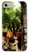 Pan For Gold In Old Tuscon Arizona IPhone Case