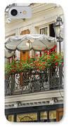 Paris Cafe IPhone Case by Elena Elisseeva