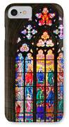 Pentecost Window - St. Vitus Cathedral Prague IPhone Case by Christine Till