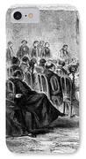 Peru: Theater, 1869 IPhone Case
