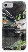 Petrified Prehistoric Monster In Arkansas IPhone Case by Douglas Barnett