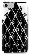 Petrus Apianus's Pascal's Triangle, 1527 IPhone Case