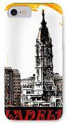 Philadelphia Poster IPhone Case