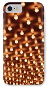 Picture Of Theater Marquee Lights IPhone Case by Paul Velgos