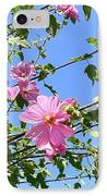 Pink Musk Mallow IPhone Case by Pamela Patch