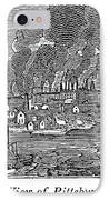 Pittsburgh, 1836 IPhone Case