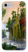 Plants Of The Triassic Period IPhone Case