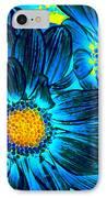 Pop Art Daisies 7 IPhone Case by Amy Vangsgard