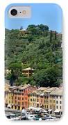 Portofino Hillside IPhone Case