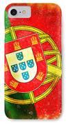 Portugal Flag  IPhone Case by Setsiri Silapasuwanchai
