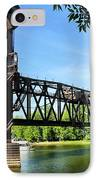 Prescott Lift Bridge IPhone Case by Kristin Elmquist