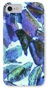 Psyllium, Light Micrograph IPhone Case by Pasieka