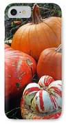 Pumpkin Patch IPhone Case by Kathy Yates