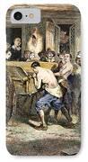 Puritans: Punishment, 1670s IPhone Case