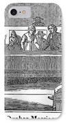 Quaker Marriage, 1842 IPhone Case