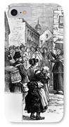 Quaker Preaching, 1657 IPhone Case by Granger