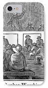 Quaker Worship, 1842 IPhone Case by Granger