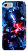 Quantum Cryptography Equipment IPhone Case by Volker Steger