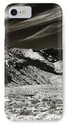 Quiet In The Valley IPhone Case by John Rizzuto