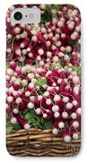 Radishes In A Basket IPhone Case