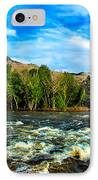 Raging River IPhone Case by Robert Bales