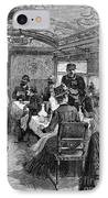 Railroad: Dining Car, 1880 IPhone Case by Granger
